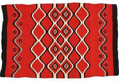 "Antique Navajo Chief Rug, 4'4"" x 6'9"" on OneKingsLane.com"