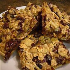 Easy Granola Bars Recipe - Camping food