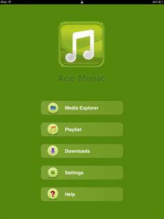 AceMusic, reproductor multimedia para iOS en streaming y descarga