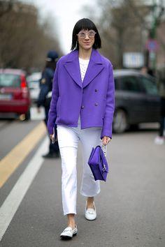 Неделя моды в Милане, осень-зима 2016: street style. Часть 2 (фото 10)