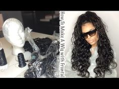 How To Make A Wig With a Frontal ( Very Detailed ) [Video] - Black Hair Information Community