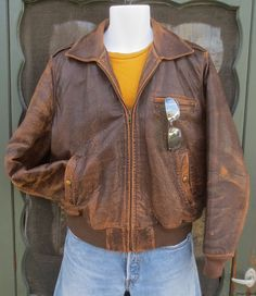 Vintage 1980's1990's Man's Distressed by delilahsdeluxe on Etsy, $53.50