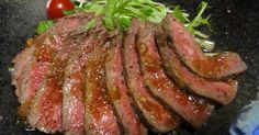 Easy Roast Beef Excellent Tare by cassismoka [Cook Pad] Easy delicious everyone's recipe is million Sushi Recipes, Asian Recipes, Beef Recipes, Beef Tataki, Cooking Tips, Cooking Recipes, New Year's Food, Best Cookie Recipes, Recipe Details