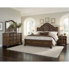 Jamieson 6 piece King size Bedroom SetConnor 6 piece Platform King size Bedroom Set   King size bedroom  . Queen Size Bedroom Set. Home Design Ideas