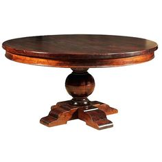 """Plantation Round 54"""" Dining Table 