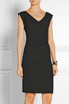 Diane von Furstenberg | Bevin ruched stretch-crepe dress | NET-A-PORTER.COM