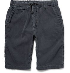 Look to Beams for wardrobe essentials that are exceptionally well-made. These long-length shorts are cut from pure cotton and coloured using traditional Japanese indigo-dying techniques. They have a super soft handle and will continue to gradually fade over time. Wear yours at the weekend with a sweatshirt and sneakers.