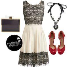 #blackandwhite #redshoes #clutch