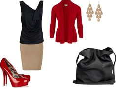 """perfect work day outfit"" by stylistntx on Polyvore"