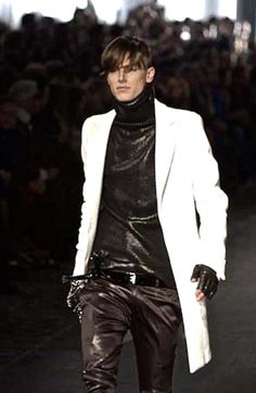 "Ultrarare Dior Homme AW03 "" Luster "" Hedi Slimane Runway Wool Knitted Jumper   eBay"