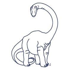 Dino Bleu - sticker MIMI'lou