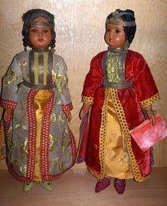 poupées du Maroc