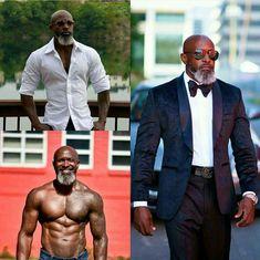 Fitness model over 40 black 55 ideas for 2019 Der Gentleman, Grey Beards, Sexy Beard, Handsome Black Men, Black Man, Beard Gang, Raining Men, Sharp Dressed Man, Older Men