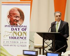 International Day of Non-Violence celebrated at the #UN