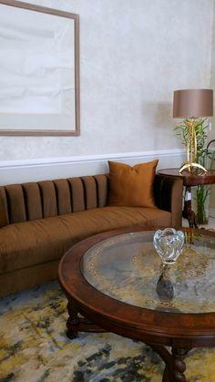 Bring out your home's unique personality. #ExclusiveLiving Ayka Design Porta Romana Jonathan Charles Fine Furniture #interiordesign #BeCreative #Dubai UAE