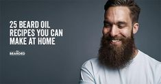 Looking for a good beard oil? We'll show you how to craft the perfect beard oil recipe from home, and show you step by step what you need to do! Homemade Beard Oil, Diy Beard Oil, Beard Oil And Balm, Best Beard Oil, Beard Wax, Men Beard, Beard Butter, Beard Tips, Beard Ideas