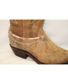 $19.95 Boot Candy Pink Crystals, Pearls and Peace These are so cool. Check out the website & go to Boot Accessories & pick me out which you think would be best for me...Appreciate your input