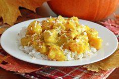 Coconut Chicken Pumpkin Curry.  daringgourmet.com