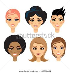 Find Six Different Beautiful Woman Six Different stock images in HD and millions of other royalty-free stock photos, illustrations and vectors in the Shutterstock collection. Thousands of new, high-quality pictures added every day. Vector Art, Character Design, Royalty Free Stock Photos, Beautiful Women, Faces, Woman, Pictures, Image, Beauty