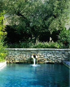 40 Ideas For Backyard Landscaping Pool Swimming Ponds Outdoor Pool, Outdoor Gardens, Outdoor Decor, Pool Water Features, Swimming Pool Designs, Swimming Ponds, Beautiful Pools, Dream Pools, Garden Pool
