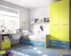 F_74 En RIMOBEL nos adaptamos a todo tipo de gustos y clientes. Accede a nuestra web y elige o diseña tu habitación juvenil. http://rimobel.es/index.php/es/rimobel/mundo-joven/juvenil