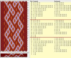 32 tarjetas, 3 colores, repite cada 12 movimientos / sed_765 diseñado en GTT༺❁