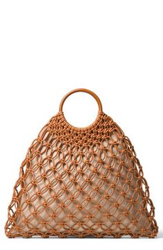 Michael Kors Michael Kors Cooper Woven Leather Tote available at #Nordstrom