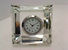 Crystal Chrome Clock - Warner Bros. Property Department