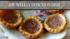 #DowntonAbbey season 3 starts tonight on Vision TV! How about some Treacle Tarts to go with that? (click through for the recipe from Pamela Foster, DowntonAbbeyCooks.com)