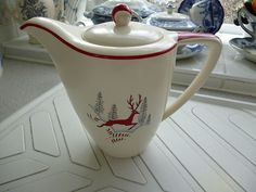 Crown Devon Leaping Stag Stockholm Coffee Pot