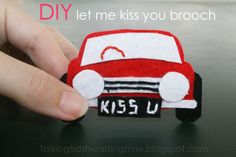 Talking Trash & Wasting Time: DIY One Direction car Brooch