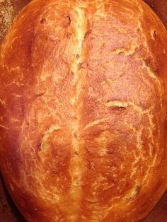 Elizabeth Obsesses...: Romertopf Bread: The easiest loaf of bread you'll ever make.