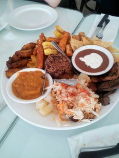 Yum...somewhere.in the heart of Miami. Great Nicaraguan food.