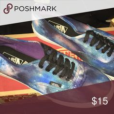 Authentic lo pro vans (Cosmic galaxy) blk  triwht Vans Shoes Sneakers 4b60ab7bf