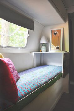 Airstream bench remodel