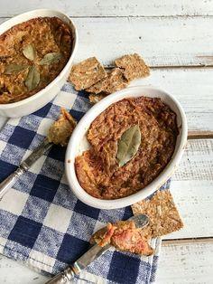 Sans gluten, sans produits laitiers et végétalienVégé-pâté poire et patate douce betterave