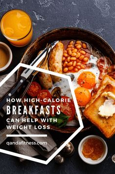 New research shows that consuming a high calorie breakfast as your main meal instead of your evening meal is likely to be more effective in aiding weight loss. Find out more here - QandA Fitness - #fitness #WeightLossHelp #breakfast #HealthyEating