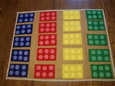 Lego twister game
