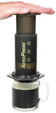 The AeroPress Coffee Maker in Australia... hmmm should look into this, so I can still have good coffee out in the bush...