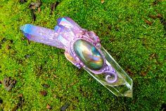 Crystal Unicorn Magical Wand Labradorite by EnchantedEvolution11