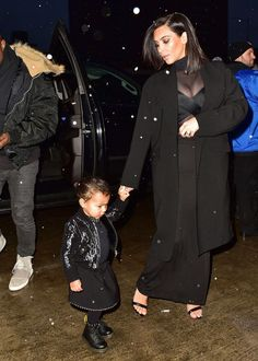 16 images that prove that toddler North West is already the ultimate fashion intern.