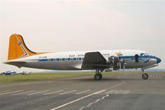 SAA Douglas DC-4 Skymaster ZS-AUB (Outeniqua) Douglas Dc 4, Nostalgic Pictures, Vintage Air, Aeroplanes, Air Travel, Military Aircraft, Kenya, Wings, African
