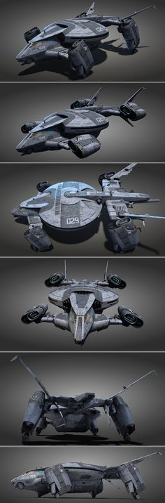 TURTLE personel carrier by Vitaliy Vostokov on ArtStation. Spaceship Art, Spaceship Design, Concept Ships, Concept Cars, Cyberpunk, Rpg Star Wars, Flying Vehicles, Starship Concept, Future Weapons