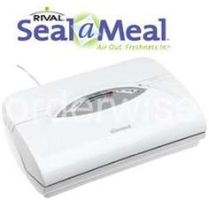 MustHaveIt.com : Seal-a-Meal.This is my #1 favorite small appliance in my kitchen.  Can't live without it!!!!  Save so much money at the market!!!!
