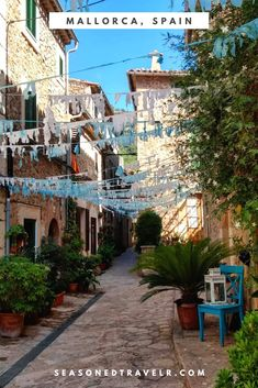 Picturesque town of Valldemossa on Mallorca, Baleàric Islands, Spain