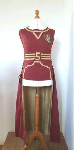 Hogwarts Quidditch Robes by TaylorMadeByChloe on Etsy