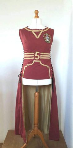 Hogwarts Quidditch Robes by TaylorMadeByChloe on Etsy