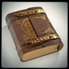 The Draconian leather journal (6.5 x 5.5 in) by alexlibris999.deviantart.com on @deviantART