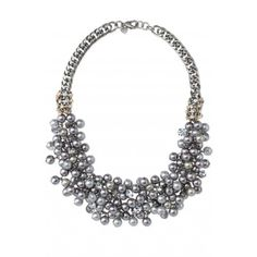 Before I tried it on I was not a believer, but it really is STUNNING on! Stella & Dot Isadora Pearl Bib Necklace