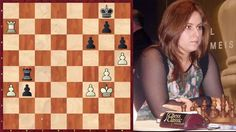 Fin de partie pour débutants : Judit Polgar promeut son pion!